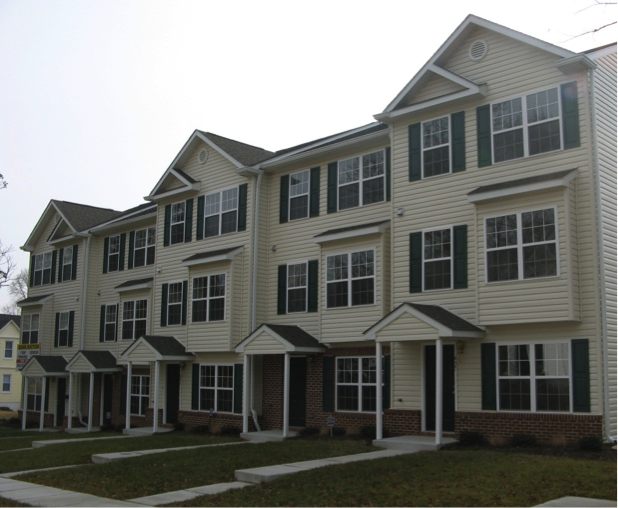 Kenneth Square Student Housing - Front View